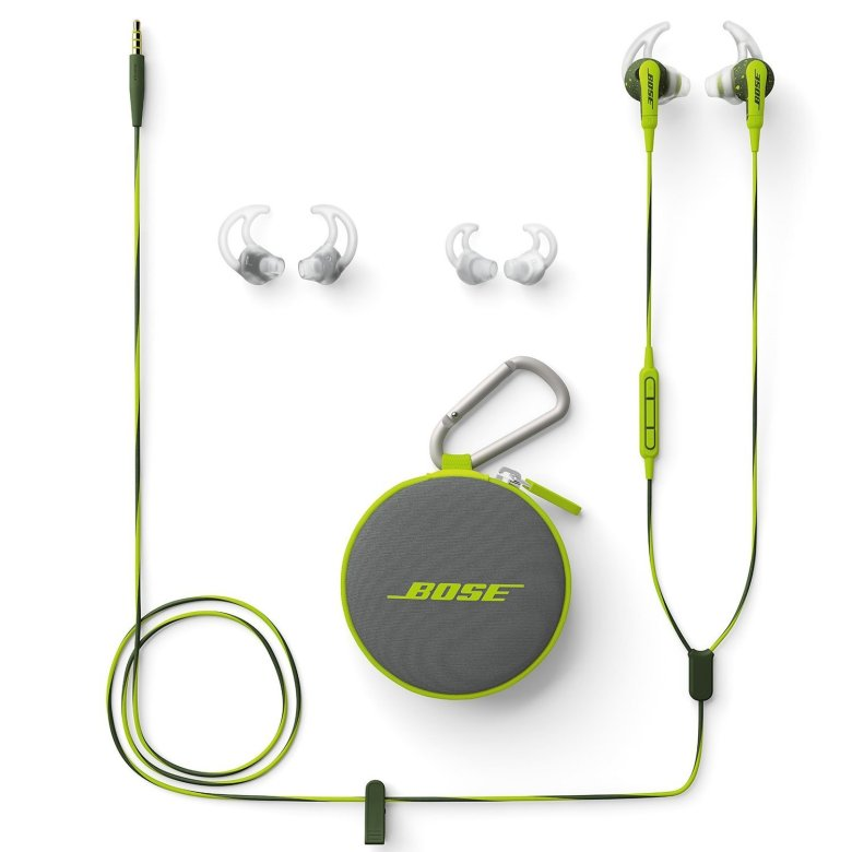 [Amazon US] Bose SoundSport - Apple devices, Energy Green ($49.00 / 미국내 무배) 사진