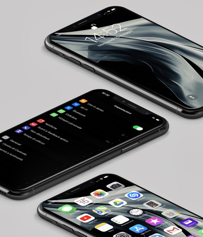 #iOS13 Dark Concept (based for new MacBookAir Wall) 사진