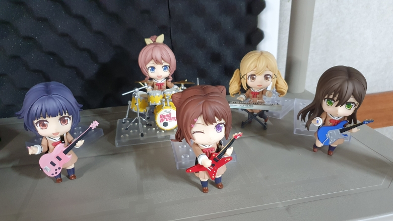 Poppin'Party 완성 사진